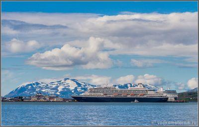 Исландия. Причал в Акурейри