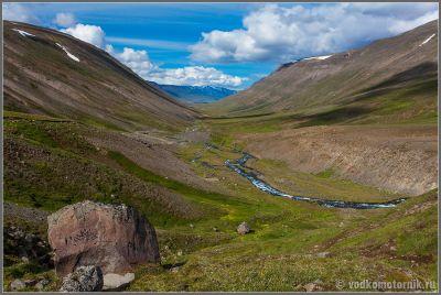 Исландия. Долина