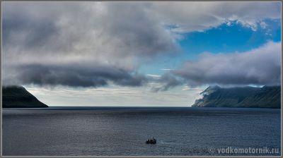 Фарерские острова - путь в океан открыт