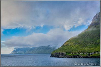 Фарерские острова - выходим из тумана