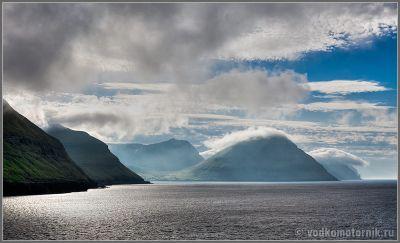Фарерские острова - вид с левого борта
