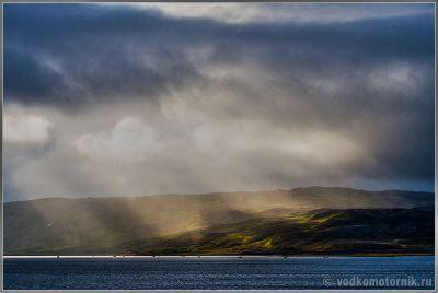 Исландия. Рыбаки во фьерде