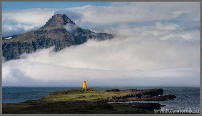 Типичный исландский маяк