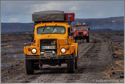 Внедорожный транспорт в Исландии