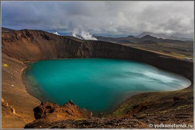 Исландия. Кратер стратовулкана Víti