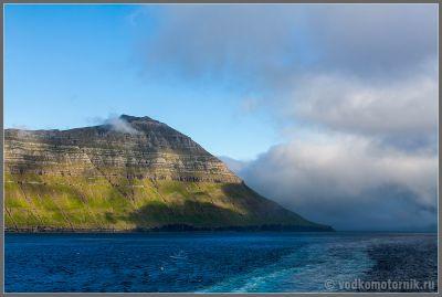 Торсхавн, Фарерские острова - покидаем
