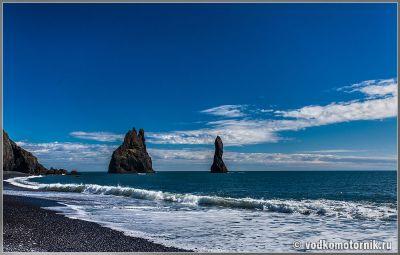 Исландия. Iceland - Полуостров Reynisdrangar