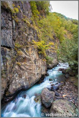 Горная река Аргун