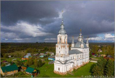 Михайло-Архангельская Бохтюжская церковь