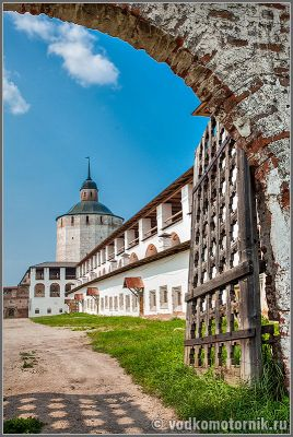 Кирилло-Белозерский монастырь вход