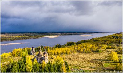 Северная Двина - Церковь Воскресения Христова