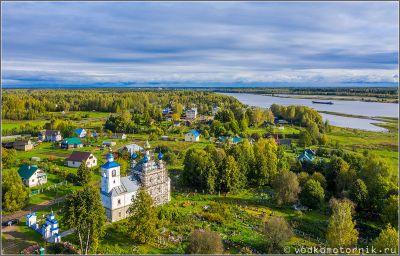 Преображенская церковь в Поводнево