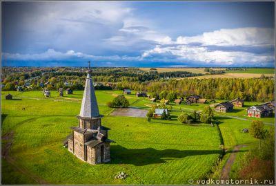 Деревянная церковь в Семенково
