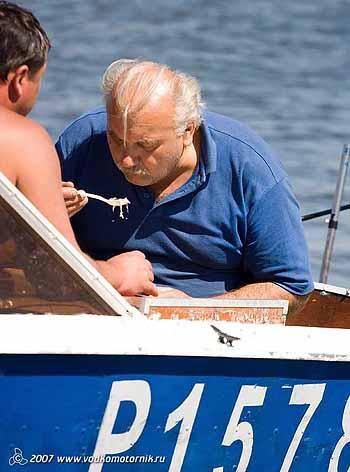 День рыбака.