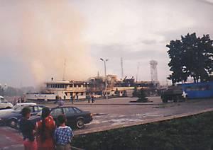 Пожар на Чеботарёве