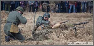 Немцы держут оборону