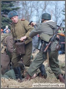 Фашистские пули отскакивали от телогрейки