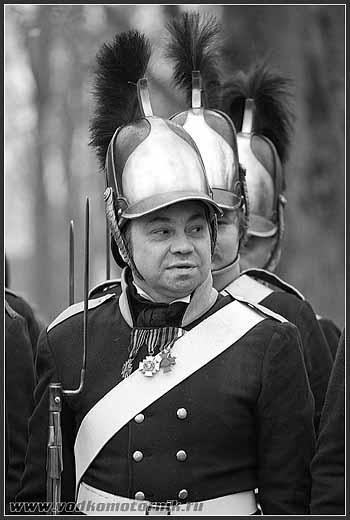 Прейсиш-Эйлау 2008г. Русские войска.