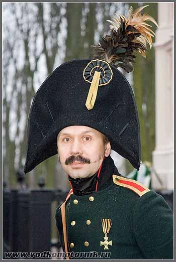 Командующий русских войск Панченко. Прейсишь-Эйлау 2008г.