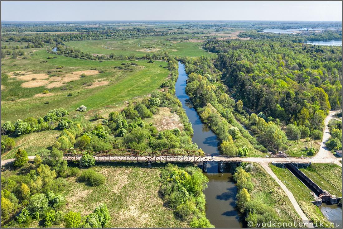 Вид на мост в сысоты