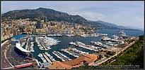 Марина в Монако.