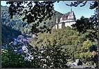 Люксембург. Вид на замок Вианден.