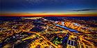 Аэропанорама 360° вечерний Калининград
