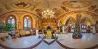 Кирха Пальмникена - православный храм Казанской иконы Божией Матери п. Янтарный виртуальный 3D тур 360°