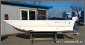 Бриз 11 - моторно-весельная лодка