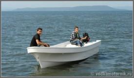 Бриз 18П - рыболовная промысловая моторная лодка